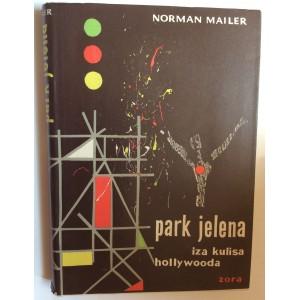 NORMAN MAILER,  PARK JELENA, IZA KULISA HOLLYWOODA,  NASLOVNICU ILUSTRIRAO BORIS DOGAN, 1958.