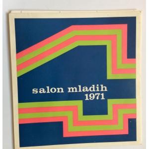 KATALOG, SALON MLADIH 1971. UMJETNIČKI PAVILJON ZAGREB