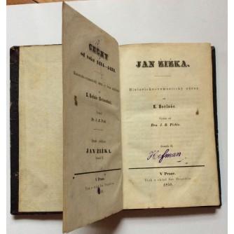 HERLOŠA, JAN ŽIŽKA, 1850. PRAG