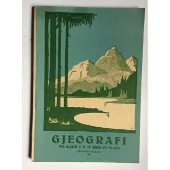 GJEOGRAFI, 1951., MUSTAFA BAKIJA, ALBANSKI JEZIK