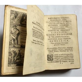 FRANCISCI FORIS OTROKOCSI, ORIGINES HUNGARICAE SEU LIBER NATIONIS HUNGARICAE ORIGO ET ANTIQUITAS, DIO 1-2, FRANEQUERE, 1693.