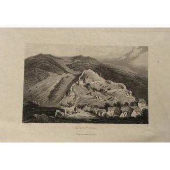 KRAPINA, VEDUTA, GOTLIEB HASSE UND SOHNE, OKO 1860.