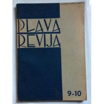 PLAVA REVIJA, GODINA 2 BROJ 9-10, 1942, MJESEČNIK USTAŠKE MLADEŽI
