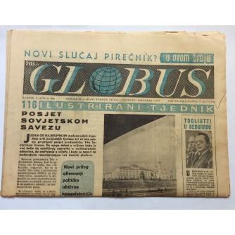 GLOBUS-ČASOPIS, BROJ 116, GODINA 1956.