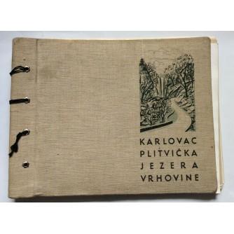 KARLOVAC-PLITVIČKA JEZERA-VRHOVINE, FOTO ALBUM IZGRADNJE CESTE