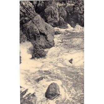 POLA PULA ISTRA HRVATSKA OTOK BRIONI SEE MORE  STARA RAZGLEDNICA 1912