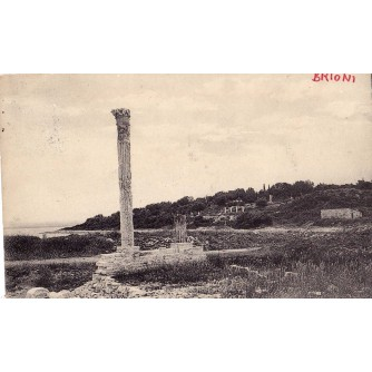 POLA PULA ISTRA HRVATSKA OTOK BRIONI  VAL CATENA, F.W.SCHRINNER, PULA, 1908. STARA RAZGLEDNICA