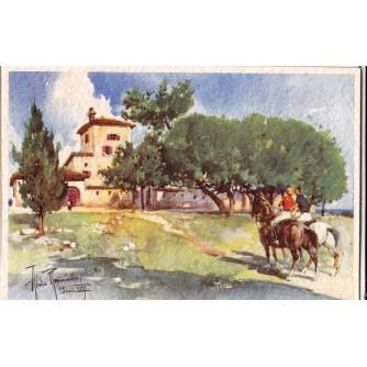 POLA PULA ISTRA HRVATSKA OTOK BRIONI , VAL DI TORRE , GENOVA 1939.-XVII.  STARA RAZGLEDNICA