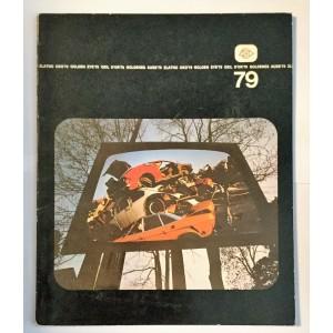 """ZLATNO OKO  '79 - XVIII SALON FOTOGRAFIJA I DIJAPOZITIVA, ČETVRTA MEĐUNARODNA IZLOŽBA FOTOGRAFIJE """" ZLATNO OKO 79 """", PRVA IZLOŽBA FOTOGRAFIJA """" OSIGURANJE """", NOVI SAD JUGOSLAVIJA 1979"""