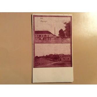 ŽUPANJA STARA RAZGLEDNICA TRG I PARK 1928.    R0234