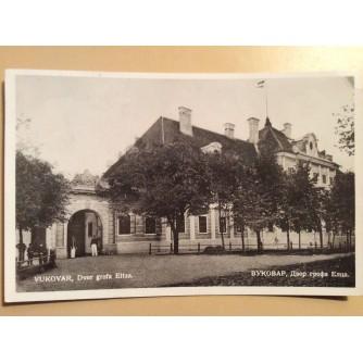 VUKOVAR STARA RAZGLEDNICA DVOR GROFA ELIZA 1935.  R0298