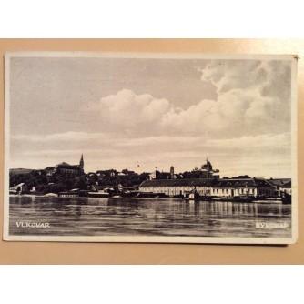 VUKOVAR STARA RAZGLEDNICA S OBALE 1934. R0303