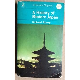 RICHARD STORRY,  A HISTORY OF MODERN JAPAN