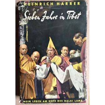 HEINRICH HARRER,  SIEBEN JAHRE IN TIBET, 1952.   SA KARTOM TIBETA
