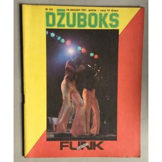 DŽUBOKS, MUZIČKI MAGAZIN, GODINA 1981. BROJ 122.