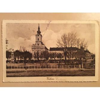 VINKOVCI STARA RAZGLEDNICA CRKVA  1921.