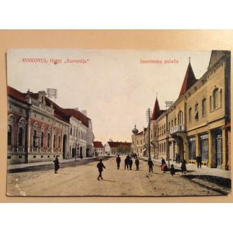 "VINKOVCI STARA RAZGLEDNICA HOTEL ""SLAVONIJA"" IMOVINSKA PALAČA  1926."