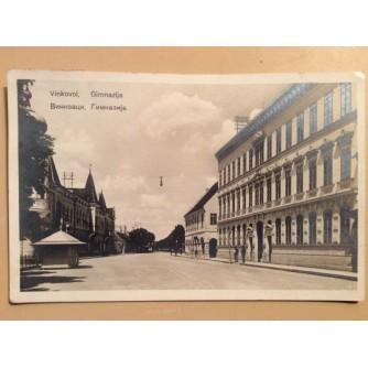VINKOVCI STARA RAZGLEDNICA GIMNAZIJA 1925.