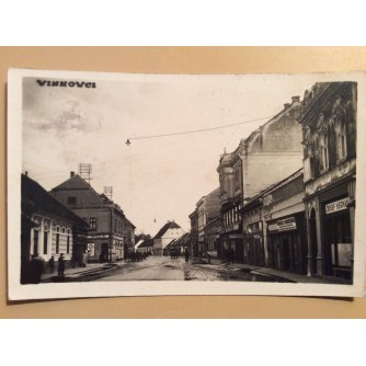 VINKOVCI STARA RAZGLEDNICA ULICA 1948.