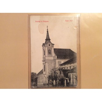 VALPOVO STARA RAZGLEDNICA ŽUPNA CRKVA 1904.