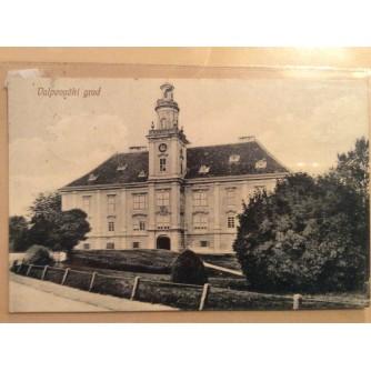 VALPOVO STARA RAZGLEDNICA VLASTELINSKI DVOR VALPOVAČKI GRAD 1912.