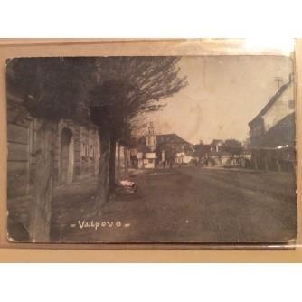 VALPOVO STARA RAZGLEDNICA ULICA DRVORED 1928.