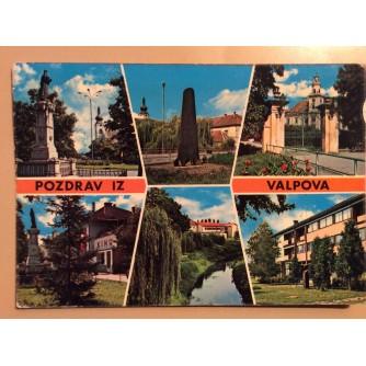 VALPOVO STARA RAZGLEDNICA POZDRAV IZ VALPOVA ZNAMENITOSTI 1975.