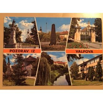 VALPOVO STARA RAZGLEDNICA POZDRAV IZ VALPOVA ZNAMENITOSTI 1984.