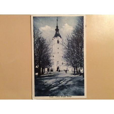 RIJEKA TRSAT STARA RAZGLEDNICA CRKVA MAJKE BOŽJE 1928.