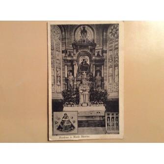 MARIJA BISTRICA STARA RAZGLEDNICA CRKVA INTERIJER OLTAR MAJKA BOŽJA S DJETETOM 1927.