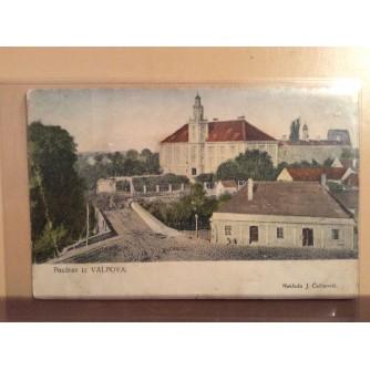 VALPOVO STARA RAZGLEDNICA POZDRAV IZ VALPOVA DVORAC I OKOLICA 1913.