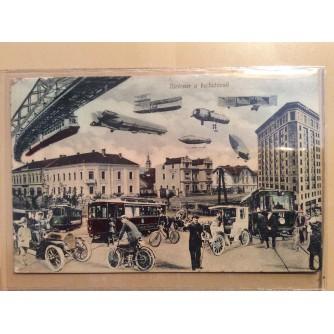 BJELOVAR STARA RAZGLEDNICA BJELOVAR U BUDUĆNOSTI 1909-1911.