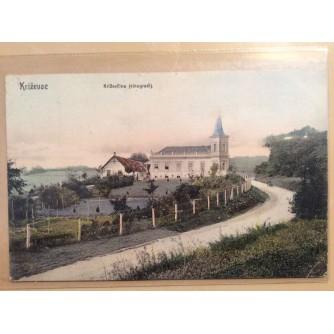 KRIŽEVCI STARA RAZGLEDNICA KRIŽEVČINA VINOGRADI 1909.