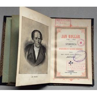 JAN KOLAR, SPOMENICA NA STOGODIŠNJICU NJEGOVA RODJENJA, ZAGREB, 1893