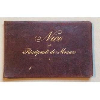 NICE, PRINCIPAUTE DE MONACO, ALBUM IKUSTRACIJA, NICE, 1901.