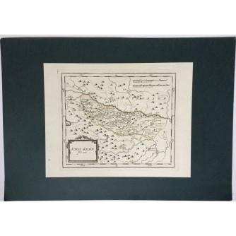 STARA ZEMLJOPISNA KARTA UNTER KRAIN Nr. 142  SLOVENIJA 1789-1806