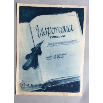 NOTE, GAVRILOVIĆ-TANOV, USPOMENA, ZAGREB, 1946.