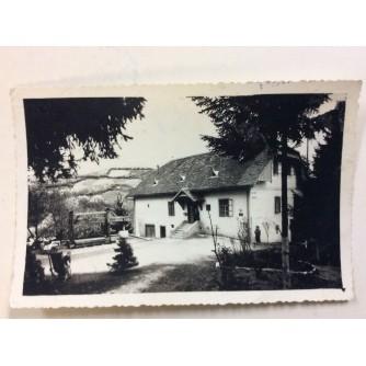VUGROVEC STARA RAZGLEDNICA PLANINARSKI DOM NAD VUGROVCEM FOTO-SEKCIJA PLANINARSKOG DRUŠTVA SLJEME 1957.
