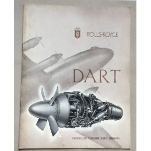 ROLLS-ROYCE, DART, PROPELLER TURBINE AERO ENGINES, LONDON, 1951.
