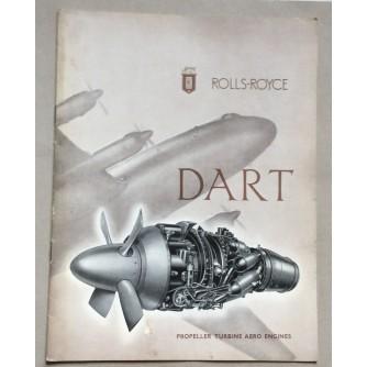 ROLLS-ROYCE, DART, PROPELLER TURBINE AERO ENGINES, LONDON, 1951.