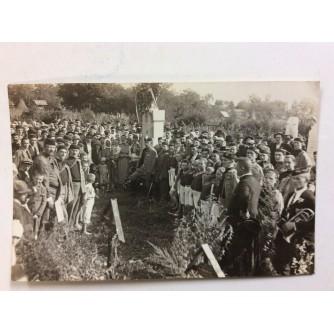 ZAPREŠIĆ STARA RAZGLEDNICA HRVATSKI SOKOL BRDOVEC PROSLAVA 1000 GODIŠNJICE HRVATSKOG KRALJEVSTVA UZ JAVNI VJEŽBU 1925.