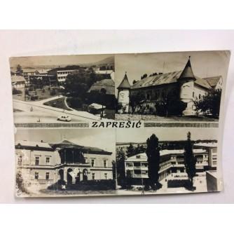 ZAPREŠIĆ STARA RAZGLEDNICA ZNAMENITOSTI 1966.
