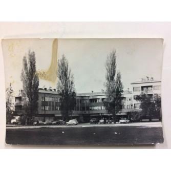 ZAPREŠIĆ STARA RAZGLEDNICA ULICA I ZGRADA 1969.