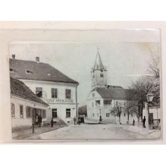 SVETI IVAN ZELINA STARA RAZGLEDNICA CRKVA I OKOLICA GOSTIONA ANTOLKOVIĆ 1930.